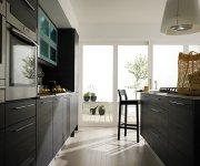 Modern Dark Kitchen